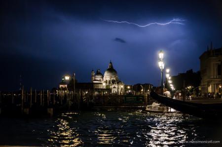 Temporale a Venezia